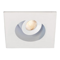 "WAC Lighting - 2"" LEDme Recessed Adjustable Square Downlight, Hr-Led252e-Wt - 2"" LEDme Recessed Adjustable Square Downlight"