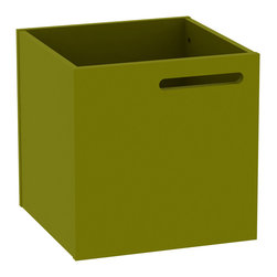 Temahome - Temahome Berlin Box, Green - An accessory that will add a splash of colour every place storage is needed.TemaHome produces a collection of contemporary furniture and decorative accents, that combine modern lines and award winning designs by some of the most respected Portuguese designers, such as Fernando Brizio and Filipe Alarcao. This attention to the design of each product, results in timeless pieces that can fit into an endless variety of contexts.