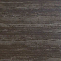 "Manifattura Emiliana - Naturae Abyss Natural 12"" x 24"" - The Naturae Porcelain Tile Collection is a gorgeous recreation of ancient eramosa stone. These tiles come in four dramatic shades and completes a contemporary look."