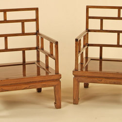 Chinese Lattice-Back Chairs - Chinese Lattice-Back Chairs