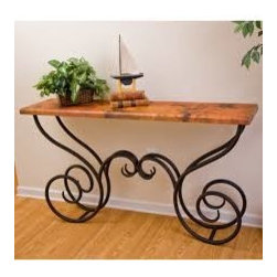 Milan Console Table by Mathews & Co. - Dimensions: (length x width x height)