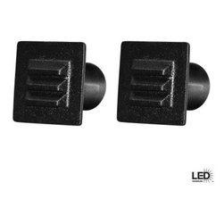 Hampton Bay - Hampton Bay Outdoor Lighting. 12V Low Voltage LED Square Deck Light 2 Pack Black - Shop for Lighting & Fans at The Home Depot. Add style and enhance the beauty of your home and deck with this compact flush mount design LED deck and stair light. UV protected black paint finish and solid construction will last for years. This LED deck and stair light provides greater energy savings, reduces maintenance costs and creates less waste. This kit includes 2 LED deck lights, 12 inch SPT-1 18 gauge cable with easy quick-clip connector