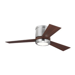 """Monte Carlo - Monte Carlo Clarity II 3 Bladed 42"""" Indoor Ceiling Fan - LED Light Kit and Blade - Features:"""