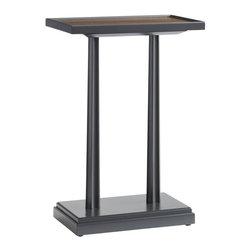EuroLux Home - Side Table Walnut Montreaux ST-758 - Product Details