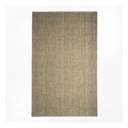 Jute Boucle Rug, Flax - I have West Elm's jute rug in my son's room and love it. It's different from a sisal rug and feels much softer on your feet.