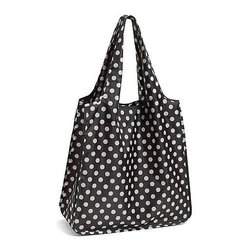 Kate Spade - kate spade Reusable Shopping Tote - Black Dots - Our Black Dot kate spade new york Reusable Shopping Tote is perfect for stashing stuff or for shopping around town.