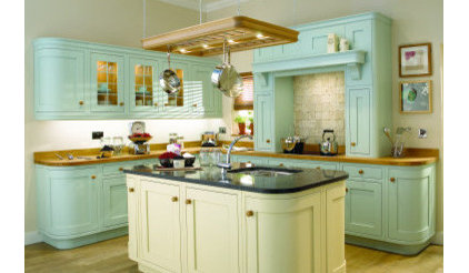 traditional kitchen cabinets by Martha Mockford
