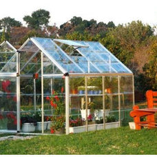 Traditional Greenhouses by teakwickerandmore.com