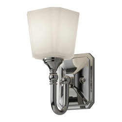 Murray Feiss - Murray Feiss Concord Transitional Wall Sconce X-NP-10791SV - Murray Feiss Concord Transitional Wall Sconce X-NP-10791SV