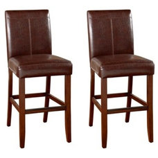 """American Heritage Carla Brown 25"""" Counter-Height Stool (Set of 2) - 125101 
