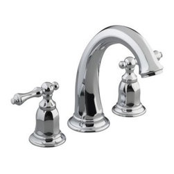 KOHLER - KOHLER K-T13494-4-CP Kelston Deck-Mount Bath Faucet Trim in Chrome - KOHLER K-T13494-4-CP Kelston Deck-Mount Bath Faucet Trim in ChromeKelston offers a unique blend of traditional design elements and modern fluidity to complement eclectic design interiors with refreshed sophistication.KOHLER K-T13494-4-CP Kelston Deck-Mount Bath Faucet Trim in Chrome, Features:• Solid brass construction for durability and reliability