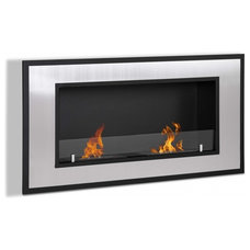 Modern Indoor Fireplaces by Soothing Company