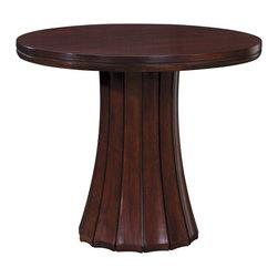 Stickley Ridgefield Round Lamp Table 7640 -