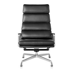 Herman Miller - Herman Miller | Quick Ship: Eames® Soft Pad Lounge Chair - Design by Charles & Ray Eames, 1969.