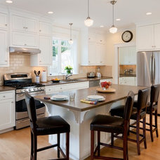 traditional kitchen cabinets by Platt Builders