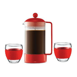 Bodum Brazil French Press, 34 Ounce - I loved my Bodum French press until I shattered it in the sink. These make arguably the best coffee ever — smooth, rich and perfect.
