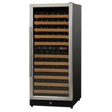 Allavino MWR-1212-SSR 111 Bottle Dual-Zone Wine Cellar Refrigerator - Black Cabi