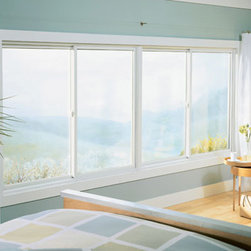 Sliding Windows - Sliding windows let light and air into a bedroom without taking up extra space.