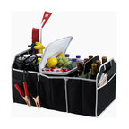 Picnic at Ascot - Trunk Organizer and Cooler Set - Features: