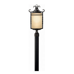 Hinkley Lighting - Hinkley Lighting 1141OL Casa Olde Black Outdoor Post Light - Hinkley Lighting 1141OL Casa Olde Black Outdoor Post Light