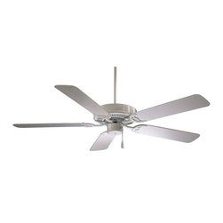 "F546-WH Minka Aire F546-WH Contractor 42' Ceiling Fan - Get 10% discount on your first order. Coupon code: ""houzz"". Order today."