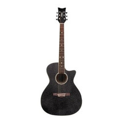 Daisy Rock Rainbow Sparkle Wildwood Acoustic/Electric Guitar - Take to the stage with confidence and style and get the fans rockin' with the Daisy Rock Rainbow Sparkle Wildwood Acoustic/Electric Guitar. This short scale guitar is easily portable and perfect for those who want a smaller version of a standard six-string. It features a cut away body with a spruce top and mahogany back. A rainbow sparkle finish dazzles the crowd. Its onboard Fishman Iysis-T Piezo pickup and built-in preamp with tuner mean it sounds great on and off the stage. Comes set up and ready to play right out of the box. About Alfred MusicAlfred Music helps the world experience the joy of making music. They were founded in New York in 1922 by composer and musician Alfred Piantadosi. In 1957 they moved to their current location in Los Angeles California and now have offices located around the world. Alfred Music is the world's largest educational music publisher. They develop products and services that make learning and playing music fun and rewarding. They produce educational reference pop and performance materials for teachers students professionals and hobbyists for every musical instrument.