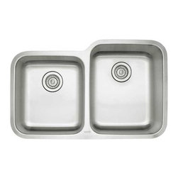 Blanco - Blanco 441261 Stainless Steel Stellar 1-3/4 Reverse Bowl - Product features