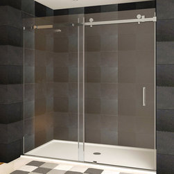 LessCare - LessCare Shower Doors Brushed Nickel Finish ULTRA-B Collection - *Condition: New
