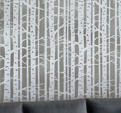 Contemporary Wall Stencils by Etsy