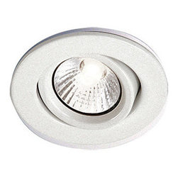 "Bazz Lighting - Bazz Lighting 303-600M White RF GU10 RF GU10 Series Single-Light - Bazz 303-600M RF GU10 Series Single-Light 3-Inch Recessed Light Fixture for Interior Installations, Finished in White (10-Piece Contractor Pack) Bazz 303-600M Features:  Uses (1) 50 watt GU10 base halogen bulb (not included) Product dimensions: 4""H x 3-3/4""W x 8-3/4""L Recessed lighting kit contains both trim and housing. For insulated ceilings, BT1200 insulated ceiling housing is required White trim with white directional baffle Dry location rated 3-3/4"" trim diameter 3-3/8"" hole diameter Contractor pack - includes 10 housings and trims  Founders Guy and Simon Benghozi are the driving force behind BAZZ. As brothers, they help each other design and develop exquisite lighting products. Their creativity, innovative spirit, and taste for modern designs has strongly influenced all of BAZZ's collections throughout the years. From their humble beginnings, designing products on a sketch board, to the computerized production line of today, BAZZ luminaires have always revealed a unique feeling... one that has helped define the Canadian residential lighting industry for over 30 years."