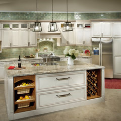 traditional kitchen cabinets by DeWils Custom Cabinetry