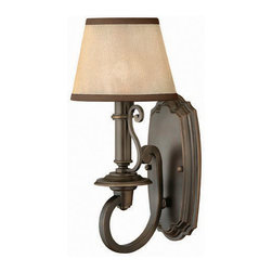 Hinkley Lighting - Hinkley Lighting 4240OB Plymouth Olde Bronze Wall Sconce - Hinkley Lighting 4240OB Plymouth Olde Bronze Wall Sconce