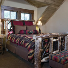 Rustic Bedroom by High Camp Home