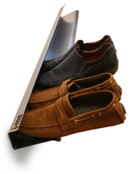 Contemporary Shoe Storage by j-me