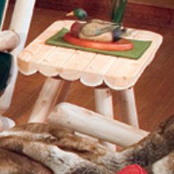 Rustic Cedar Cedar Looks End Table -