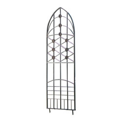 Love Knots Metal Garden Trellis