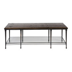Vanguard - Joyner Cocktail Table / Wood Top - Personalized Finish Options Available. See Price List for Details.