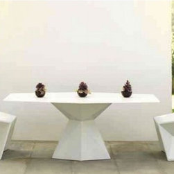 Vertex Outdoor Dining Table and Chairs - Vertex outdoor dining table and chairs.