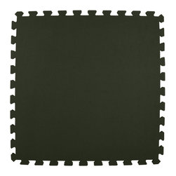 Greatmats - Greatmats Foam Floor Tile, 10 Pack, Black - This is a 10 pack of tiles. Free Shipping. Each tile is 2x2 ft in size and covers 4 SF, this 10 pack of foam tiles will cover 40 SF. 2 Border strips included per tile. Ships ground to your door.