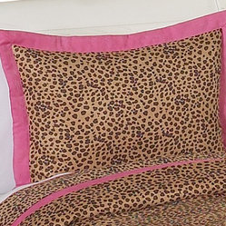 Pink Cheetah Pillow Sham