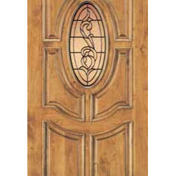 "Jeld-Wen 425 Knotty Alder Door Wheat Finish Patina Caming - SKU#    425Brand    Jeld-WenDoor Type    ExteriorManufacturer Collection    Jeld-Wen Exterior Custom WoodDoor Model    Door Material    WoodWoodgrain    Knotty AlderVeneer    Price    $Door Size Options      $Core Type    Door Style    Door Lite Style    Oval LiteDoor Panel Style    6 PanelHome Style Matching    Classic , Colonial , VictorianDoor Construction    Prehanging Options    Prehung Configuration    Single DoorDoor Thickness (Inches)    Glass Thickness (Inches)    Glass Type    Glass Caming    PatinaGlass Features    Glass Style    Glass Texture    Glass Obscurity    Door Features    Door Approvals    Door Finishes    WheatDoor Accessories    Weight (lbs)    680Crating Size    25"" (w)x 108"" (l)x 52"" (h)Lead Time    Warranty"
