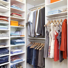 Ways to Maximize Storage in Your Walk-In Closet : Rooms : HGTV