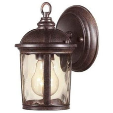 Contemporary Outdoor Wall Lights And Sconces by Home Depot