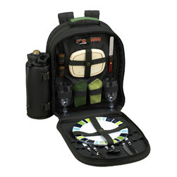 Picnic at Ascot - ECO Picnic Backpack Cooler for Two - Features: