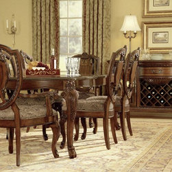 ART Furniture - Old World Leg Dining Room Set - ART-143220-ROOM - Set Includes Table and 4 Side Chairs
