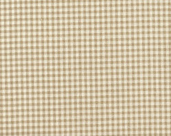 Close to Custom Linens - Euro Shams Pair Gingham Check Linen Beige - A charming traditional gingham check in linen beige on a cream background. The shams are 26 x 26 with a 2 1/2 inch tailored flange. The face and the flange are lined with a layer of poly for extra body. Self-covered cording trim adds the finishing touch. Two standard shams, fit pillows 26 x 26. Finished size is 31 x 31.