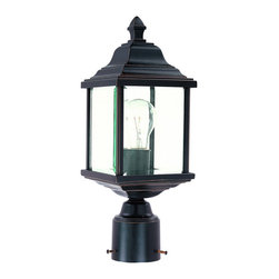 Dolan Designs - Dolan Designs 932-20 Charleston 1 Light Post Lights & Accessories in Antique Bro - This 1 light Exterior Post Lantern from the Charleston collection by Dolan Designs will enhance your home with a perfect mix of form and function. The features include a Antique Bronze finish applied by experts. This item qualifies for free shipping!