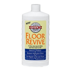 Hope - Hope Home Appliance Floor Revive Cleaner 16 Oz - Pt - 4 Pack - Floors seem to get dusty and dirty quickly, dont they With Hopes Floor Revive, your floor will not only look shiny and new, but will stay looking good for longer with its silky matte finish. Our cleaner helps restore and revive the shine on all sealed floors. Makes old, damaged floors andor stains restored to new again It is easy to apply, dries quickly, and leaves a finish that protects against spills and stains. No harsh chemicals, waxes or solvents. Can fully restore damaged spots Makes dull floors look like new . Can be used on any sealed floor . Leaves a sleek finish that protects against spills and stains . 1 bottle covers 320 square feet . Pleasantly scented .