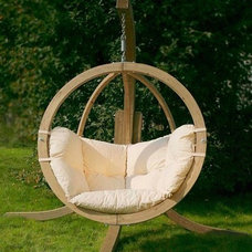 Contemporary Outdoor Chairs Globo Hanging Chair