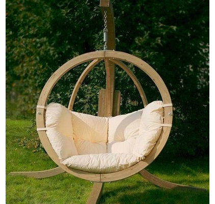 Contemporary Outdoor Lounge Chairs Globo Hanging Chair
